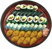 寿司盛合せ 3,000円より (税別)